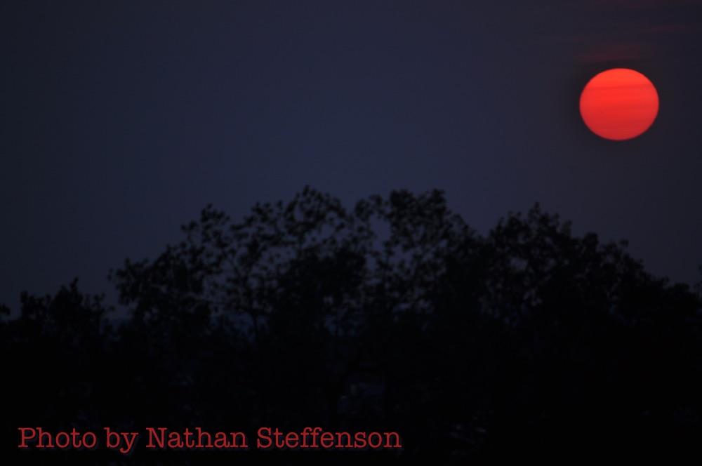 red sun aug 21 2015