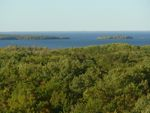Mille Lacs Lake from Kathio fire tower