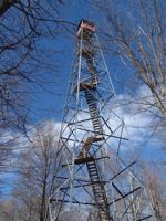 Mille Lacs Kathio fire tower